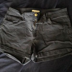 Navy H&M shorts